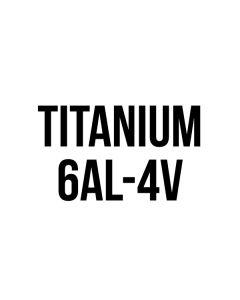 """Titanium .040"""" 6""""x12"""""""