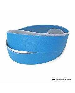 SA331 Aluminum Oxide Resin Bond Cloth Belt, Film Back Micron, 2x72