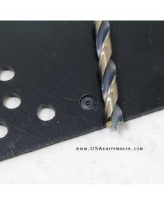 Drill Bit *Burrout Brad Point Kydex (TM) Plastic