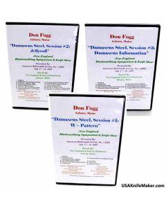 Don Fogg Damascus 3 DVD Set