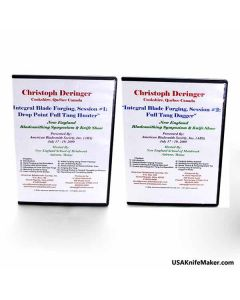 Christopher Derlinger Integral Blade Forging, 2 DVD Set