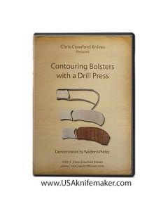 Contouring Bolsters with a Drill Press, Weldon Whitley