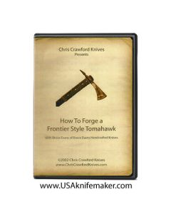 Forge a Frontier Style Tomahawk Crawford & Evans