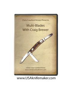 DVD - Multi-Blades with Craig Brewer