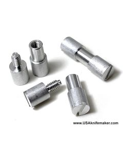 "Corby Bolt - Aluminum - SMALL .125"" shaft .187"" shoulder"
