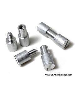 "Corby Bolt - Aluminum - LARGE - .245"" shaft diameter, .313"" shoulder diameter"
