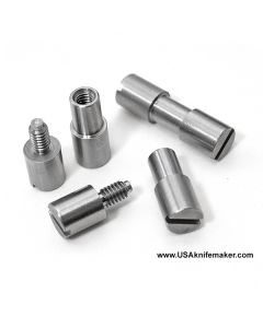 """Corby Bolt - 303SS - MICRO - .095"""" shaft .125"""" shoulder"""