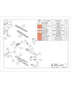 Bali DB3.1 Parts List