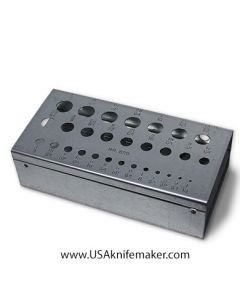 Drill Bit Stand for Fractional Size Bits