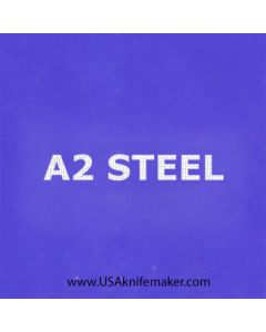 """Stencil -""""A2 STEEL"""" - one image - approx 1"""" x 2 1/2"""" in size"""