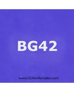 """Stencil -""""BG42"""" - one image - approx 1"""" x 2 1/2"""" in size"""