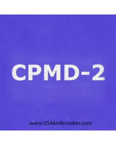 """Stencil -""""CPMD-2"""" - one image - approx 1"""" x 2 1/2"""" in size"""