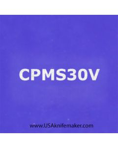 """Stencil -""""CPMS30V"""" - one image - approx 1"""" x 2 1/2"""" in size"""