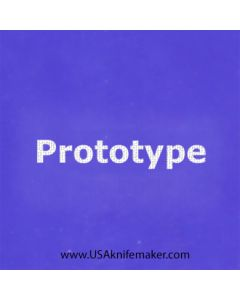 """Stencil -""""Prototype"""" - one image - approx 1"""" x 2 1/2"""" in size"""