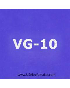 """Stencil -""""VG-10"""" - one image - approx 1"""" x 2 1/2"""" in size"""