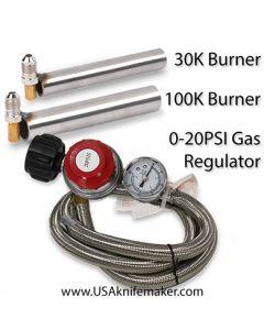 Atlas Forge Burners and Regulator
