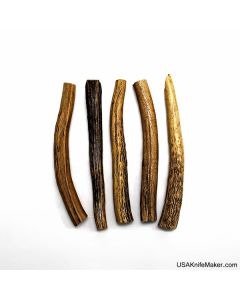 Stag Tine Tips and Tapers- Various Sizes-
