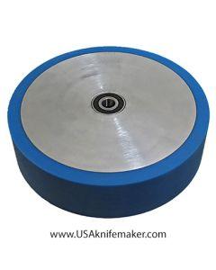 "Wheel - Contact wheel 8""x2"" Poly 60 duro BLUE"