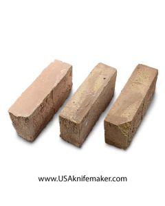 """USED - Hard Brick 2.5"""" x 4.5"""" x 9""""- 25 count"""