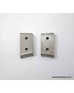"""Bolster - Stainless Steel - 1.22"""" Long End, 1.10"""" Short End, .6"""" Width, .205"""" Thick (per piece)"""