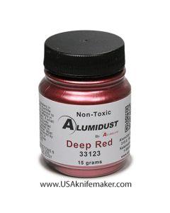 Alumidust Metallic Powder - Deep Red
