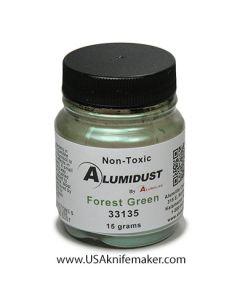 Alumidust Metallic Powder - Forest Green