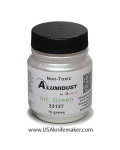 Alumidust Metallic Powder - Interference Green