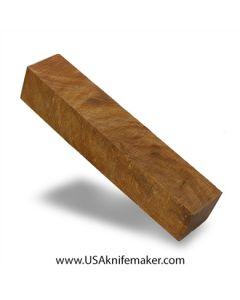 "Thuya Burl Block #2022 - 1 5/16"" x 1 5/16"" x 7 1/8"" - Knife Handle Material"