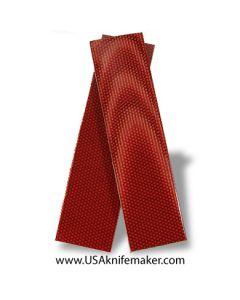 "UltreX™ Micarta- 24W Red 1/4"" - Knife Handle Material"