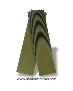 "UltreX™ G10 - Black & OD Green 1/8"" - Knife Handle Material"