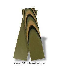 """UltreX™ G10 - Camo (3 Color) 1/4"""" - Knife Handle Material"""