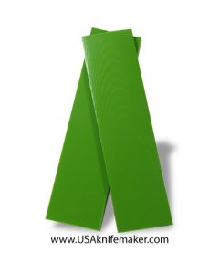 """UltreX™ G10 - Neon Green 3/8"""" - Knife Handle Material"""