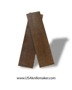 """UltreX™ Burlap - Natural - 3/8"""" - Knife Handle Material"""
