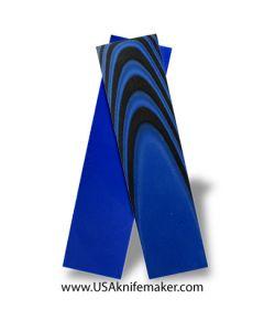 "UltreX™ SureTouch™ - Black & Blue 3/8"" - Knife Handle Material"