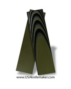 """UltreX™ SureTouch™ - Black & OD Green 3/16"""" - Knife Handle Material"""