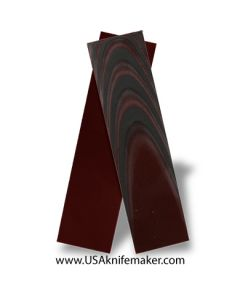 """UltreX™ SureTouch™ - Black & Red 3/16"""" - Knife Handle Material"""