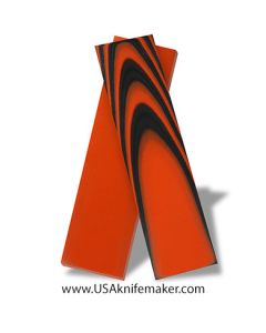 """G10 - Tiger Stripe 1/8"""" 2x2 Layering - Knife Handle Material"""