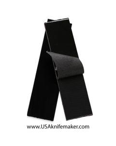 "G10 - PEEL PLY MEDIUM Black 1/4"" - Knife Handle Material"