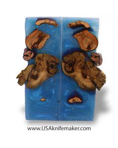 Hybrid Wood- Grape Vine Blue- Scales- #04