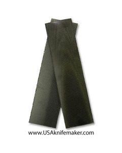 """Canvas - OD Green Canvas 3/8"""" - Knife Handle Material"""