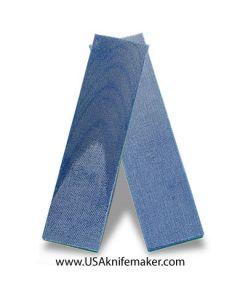 "TeroTuf Blue Jeans 1/8"" - Knife Handle Material"