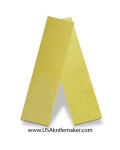 "TeroTuf Yellow 3/8"" - Knife Handle Material"