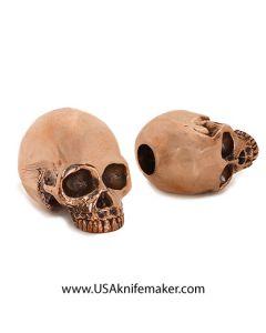 Skull - LionArmory Classic Skull Bead - Copper