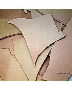 Leather - Scraps - 3lb Box