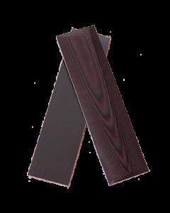 "UltreX™ Linen - Maroon - 3/8"" - Knife Handle Material"