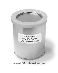 CPM 154 Powdered Metal 5lbs