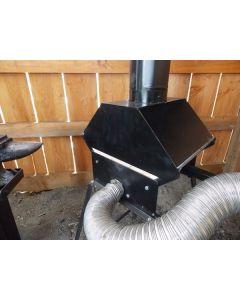 Whitlox Wood-Fired Mini Forge - Hood
