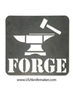 Metal Shop Sign - Forge