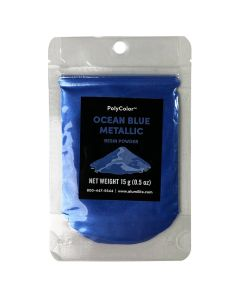 Alumidust Metallic Powder - Ocean Blue - 15g