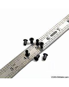 """Eyelets - S-38 Eyelets (premium Siska) 3/16"""" Black Oxide"""